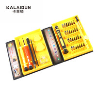 38 in 1Precision Multipurpose Screwdriver Set Repair Opening Tool Kit Fix For iPhone laptop smartphone watch with Box Case
