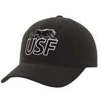 University of Sioux Falls Cougars Essential Adjustable Hat - Black
