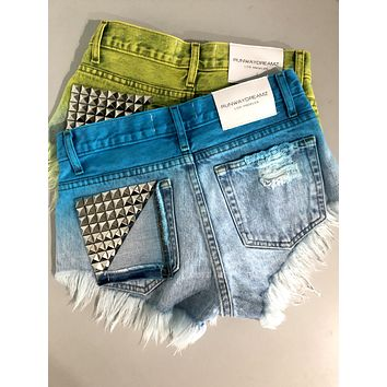 Jett Mermaid Studded Babe Shorts