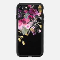 FLOWER & GOLD by Monika Strigel iPhone 7 Hülle by Monika Strigel | Casetify