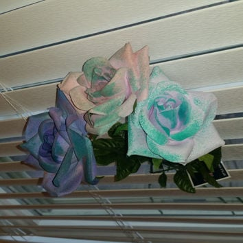 Shabby Chic DIY Pretty, Colorful Roses