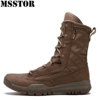 MSSTOR 2018 Men Hiking Shoes Man Brand Hunting Trekking Hiking Boots Camping Sport Shoes For Men Training Climbing Mens Sneakers