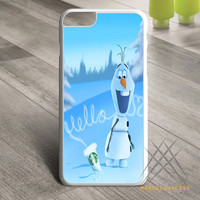 Hello olaf Starbucks Custom case for iPhone, iPod and iPad