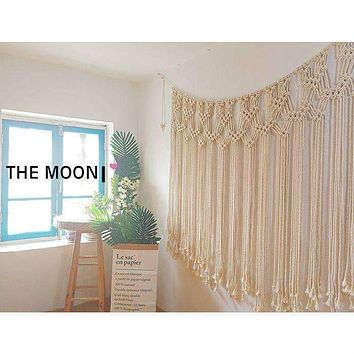 Bohemian Macrame Wall Art Decor