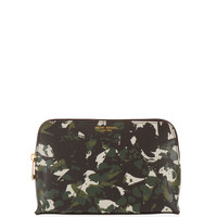 West 57th Floral Camouflage Cosmetic Case