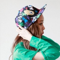 Graffiti/Harajuku/Dinosaur/Eye Ball Hat Hip Hop Hats Beanie Cap Snapback Adjustable Baseball Cap Geometric Pattern In Box