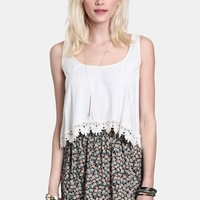 Count Me In Floral Skirt