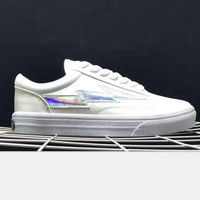 Revenge x Storm x Vans lightning Kanye West Old Skool Canvas Flat Sneakers Sport Shoes H-PSXY