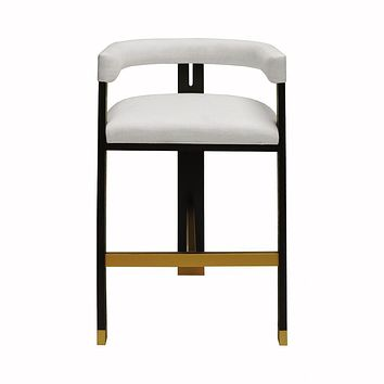 Connery Accent Bar Stool by Worlds Away