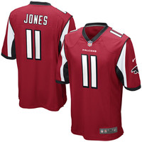 Mens Atlanta Falcons Julio Jones Nike Red Game Jersey