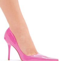 Pointed Toe Pump with 4 Inch Heel < Sexy Shoes   Flirt Catalog