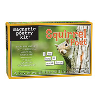 Squirrel Magnetic Poetry Kit