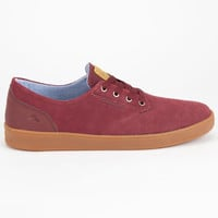 Emerica The Romero Laced Mens Shoes Burgundy  In Sizes