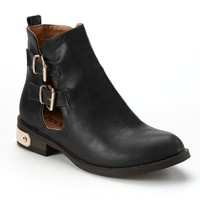 Winpis Side-Buckle Ankle Booties - Women