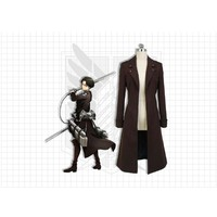 Cool Attack on Titan  Eren Jaeger Trench Coat Uniform Cosplay Costume For Adult Women Men Halloween Carnival Costume Cosplay Jacket AT_90_11