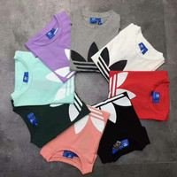 adidas Originals Trefoil Boyfriend T-Shirt - (8 color)