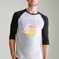 Los Angeles Lakers Baseball Tee