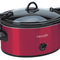 Crock-Pot® 6 Qt. Cook & Carry™ Slow Cooker - Red SCCPVL600-S