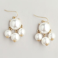 Pearl Bauble Earrings