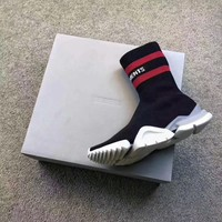 Best Online Sale Vetement x Reebok Custom Speed Stretch Knit Socks Shoes