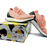 """""""Ready Stock"""" Adidas Ultra Boost Uncaged ¡°Coral¡± Women Sneaker"""