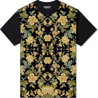 Underated gold floral