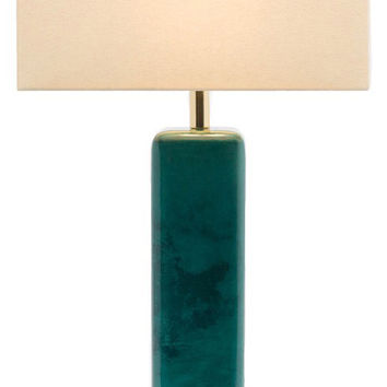 Made Goods Abban Lamp - Turquoise
