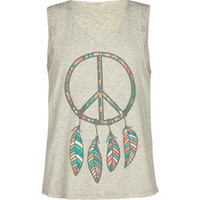 FULL TILT Dreamcatcher Girls Tank
