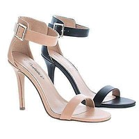 Sydney41 By Breckelle's, Classic High Heel Ankle Strap Sandal, Women's Shoes