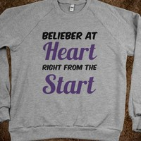 Belieber at Heart Right from the Start