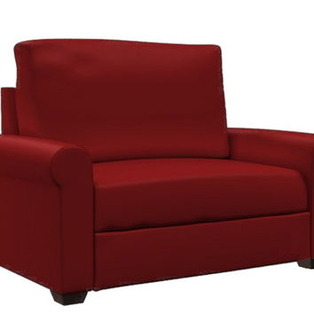 Endicott Paragon Chair Leather Sleeper by Lazar Industries