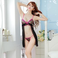 Cute Hot Deal On Sale Sexy Spaghetti Strap Exotic Lingerie [6595578243]