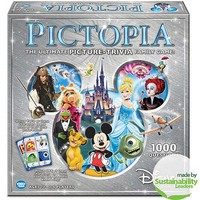 Disney Edition Pictopia: Picture-Trivia Game - Walmart.com