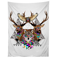 Kris Tate Forest Friends Tapestry