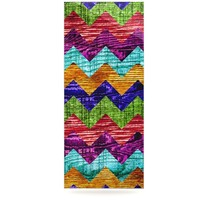 """Beth Engel """"Natural Flow"""" Chevron Luxe Rectangle Panel"""