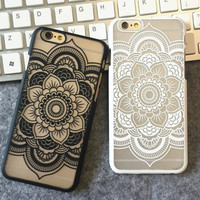 Retro Vintage Lace Floral iPhone 5 5s iPhone 6 6s Plus Case Cover iPhone 7 7Plus Case + Free Shipping + Gift Box