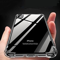 Shockproof 360 Clear Phone Case for iPhone 7/7 Plus for iPhone X