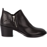 Costume National zip shoe boots