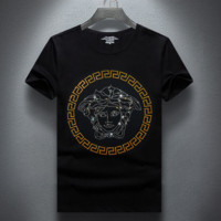 Versace Short Sleeves T Shirt Top Tee Blouse Unisex