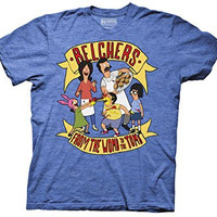 Ripple Junction Bob's Burgers Belchers From the Womb to the Tomb Adult T-Shirt