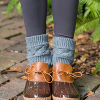Just My Duck Moc Boots, Camel