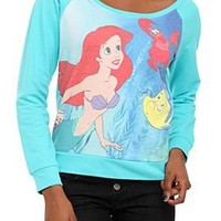 Disney The Little Mermaid Raglan Pullover Top - 188047