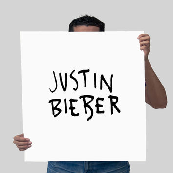 Justin Bieber With Original Font Sorry From Sweetandmallow On
