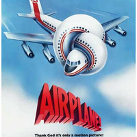 Airplane Comedy Movie Poster 11x17