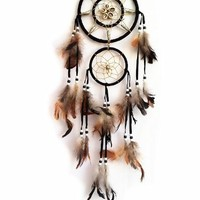 Dream Catcher with Feathers Hanging