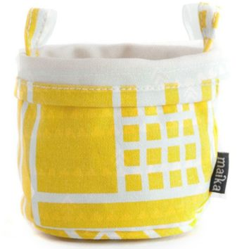 Maze Recycled Canvas Bucket