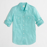Factory camp shirt in cotton voile - washed shirts - FactoryWomen's Shirts & Tops - J.Crew Factory
