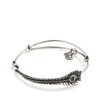 Peacock Feather Wrap  | Alex and Ani