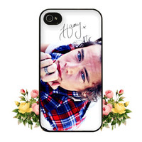 1D One Direction Harry Styles Signature iPhone 4 4s 5 Case Cute Hipster Directioner