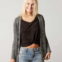 GILDED INTENT KNIT CARDIGAN SWEATER